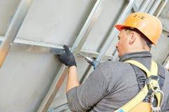 Free Builder At Facade Construction Work Royalty Free Stock Photos - 50709048