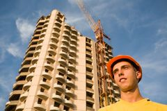 Builder & building Stock Photography