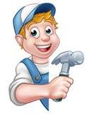 Builder or Carpenter Handyman Construction Worker Stock Photos