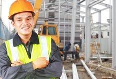 Builder construction worker Stock Photo
