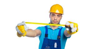 Builder - Construction Worker Royalty Free Stock Photos