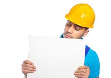 Builder - Construction Worker Stock Photo
