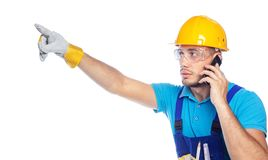 Builder - Construction Worker Royalty Free Stock Image