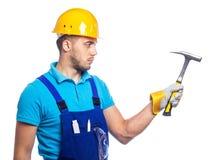 Builder - Construction Worker Stock Photo