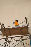 Builder of construction worker Stock Image