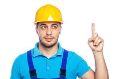 Builder - Construction Worker Royalty Free Stock Images