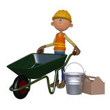 Builder 3d Stock Images