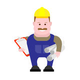 Builder engineer Royalty Free Stock Images