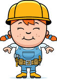 Builder Girl Stock Images