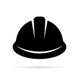 Builder hard hat icon stock illustration