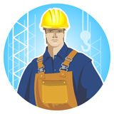 Builder icon Royalty Free Stock Photos