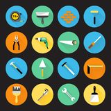 Builder Instruments Icons Royalty Free Stock Images