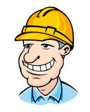 Builder man Royalty Free Stock Image