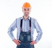 A builder man Royalty Free Stock Photos
