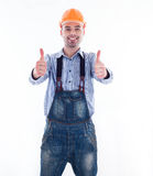 A builder man Royalty Free Stock Images
