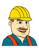 Builder man or engineer Stock Photos
