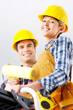 Builder people Royalty Free Stock Images