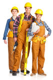 Builder people Stock Photo