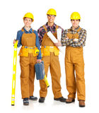 Builder people royalty free stock image