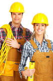 Builder people Royalty Free Stock Photography