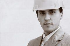 Builder portrait Royalty Free Stock Images