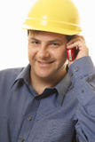 Builder Project Manager Tradesman Royalty Free Stock Photo