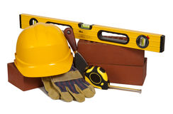 Builder's equipment Stock Images