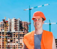 Builder at work Royalty Free Stock Photos