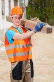 Builder during work Royalty Free Stock Photos