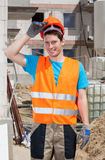 Builder during work Stock Photography