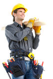 Builder worker Stock Image