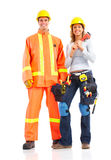 Builder workers Royalty Free Stock Photo