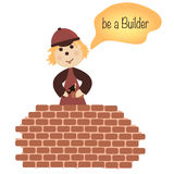 The builder stock photography