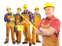 Builders Royalty Free Stock Image