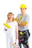 Builders Royalty Free Stock Photos