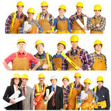 Builders Stock Photo