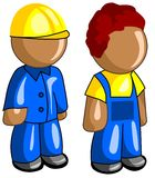 Builders icon Royalty Free Stock Images