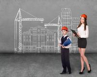 Builders Royalty Free Stock Images