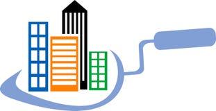 Builders logo Stock Photo