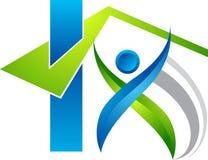 Builders logo Royalty Free Stock Photo