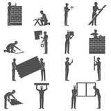 Builders People Set Royalty Free Stock Photo