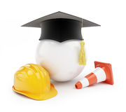 Builders school on a white background Stock Photography