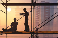 The builders Stock Photography