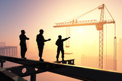 The builders Royalty Free Stock Image