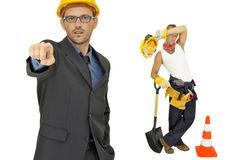 Builders team Stock Photography