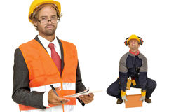 Builders team Stock Images
