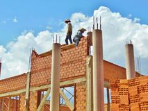Builders 001 Royalty Free Stock Photography