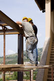 Builders at work Royalty Free Stock Image