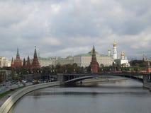 buildig高莫斯科全景视图 库存图片