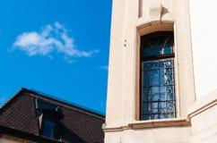 Buildiing d'annata di La Chaux de Fonds, Svizzera immagini stock libere da diritti